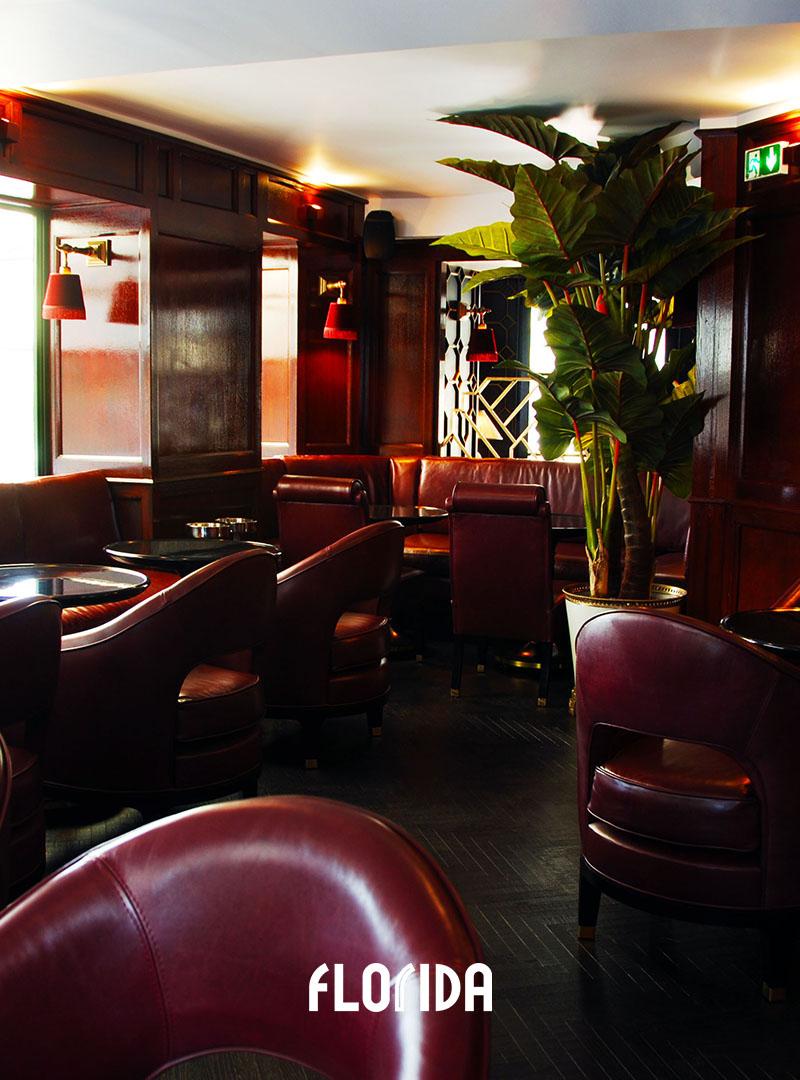 Salle étage Florida restaurant Paris