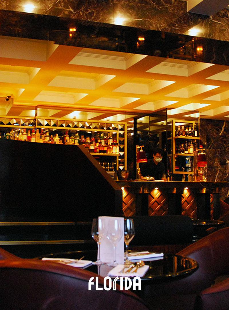 Salle haut Paris restaurant Florida