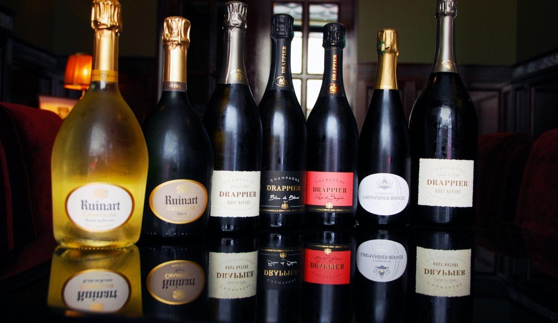 Bouteilles de champagne Florida les Halles