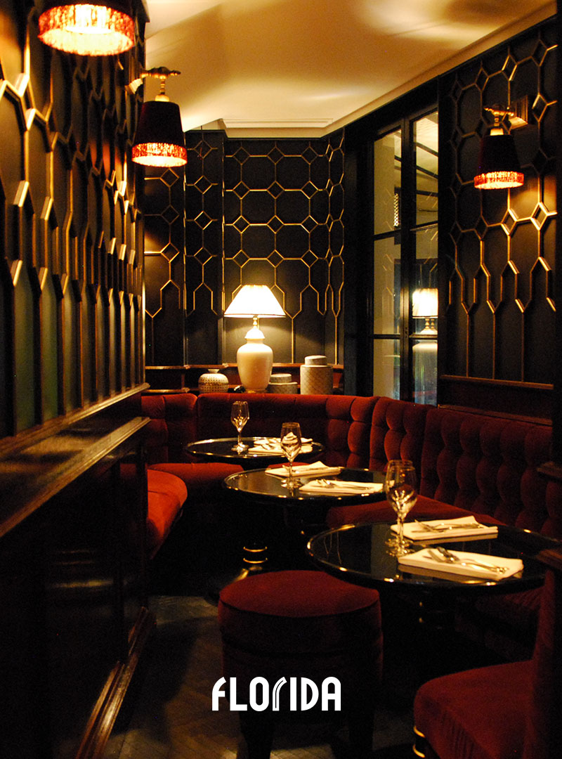 Restaurant Florida Les Halles salon étage